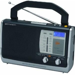 picture of Free Emerson Refurb Portable Weather Clock Radio