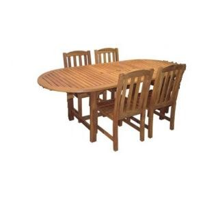 picture of Hampton Bay Amazon Teak Patio Dining Chairs 40% Off
