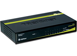 picture of TRENDnet 8-Port Gigabit Switch for Wired Networking Sale