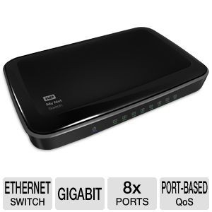picture of WD My Net 8-Port Gigabit Ethernet Switch Deal