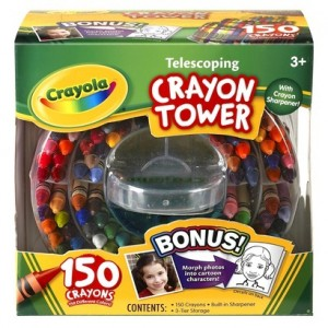 picture of Crayola 150-Count Telescoping Crayon Tower Sale