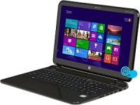 HP TouchSmart 15-b153nr AMD A-Series A8-4555M(1.60GHz) 6GB Memory 750GB HDD 15.6 Touchscreen Sleekbook Windows 8