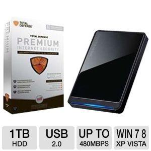 picture of Buffalo 1TB Portable HD w/Total Defense Sale
