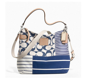 picture of Coach Daisy Patchwork Convertible Hobo 72% Off