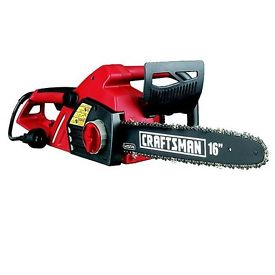 picture of Craftsman 3.5 hp 16'' Electric Chain Saw Sale