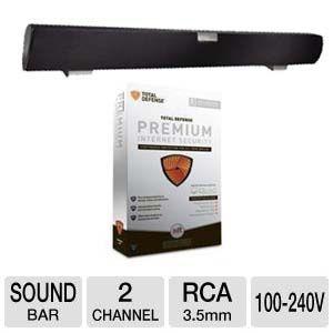 picture of Vizio 2-Ch Refurb Sound Bar w/Total Defense Software Sale