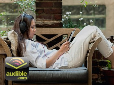Audible-book-coupon_woman-listening