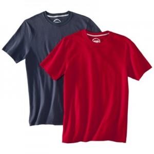 Jockey crew neck t shirt sale 2 pack buyvia for Jockey t shirts sale