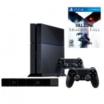 PlayStation 4 with Killzone Shadow Fall and 2 Dual Shock Controllers + Camera (PlayStation 4)