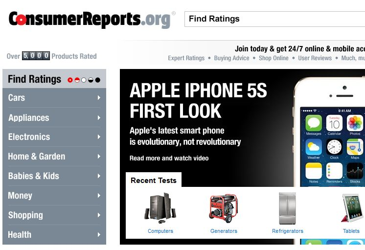 consumer reports online subscription
