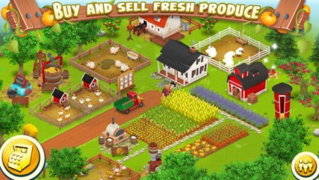 picture of Free Hay Day Android Farming Game with $10 free credit