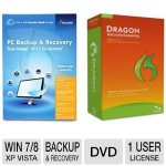 True Image 2013 and Dragon Naturally Speaking Software