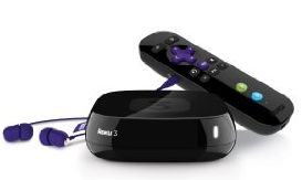 picture of Roku 3 Streaming Media Player with Voice Search Sale