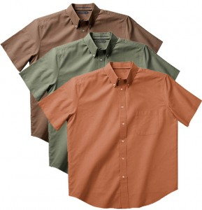 picture of Zorrel Men's Chambray Shirts 3-Pack 80% Off