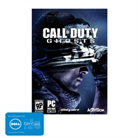 picture of Call of Duty Ghosts Xbox 360, Xbox One PS3, PS4, PC Sale - Free $25 GC