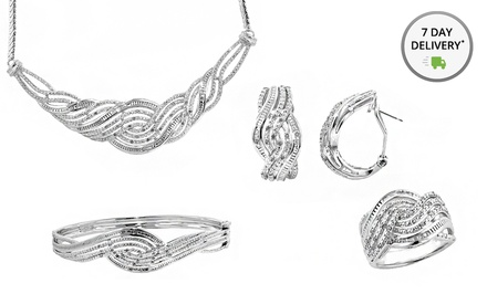 picture of 1 Carat Total Weight 4-Pc Diamond Set 90% Off