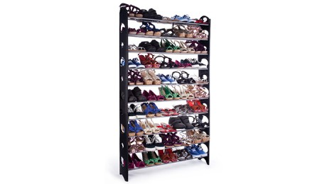 picture of 1Sale 10-Tier Shoe Rack 65% Off