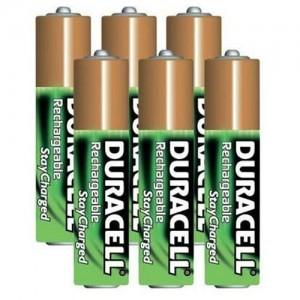 picture of 6 Pack Duracell AAA Rechargeable Battery Deal