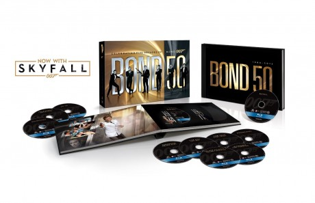 picture of Bond 50: The Complete 23 Film Collection - Blu-ray Sale