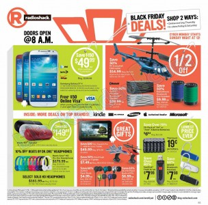 picture of Black Friday 2013: Radio Shack Ad Scans