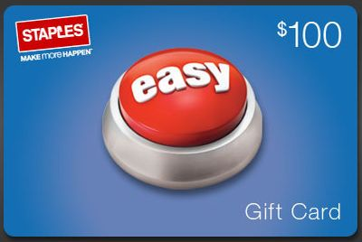 picture of 15% Off $100 Staples eGift Cards Sale