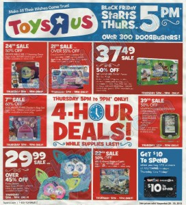 picture of Black Friday 2013: Toys R Us Ad Scans