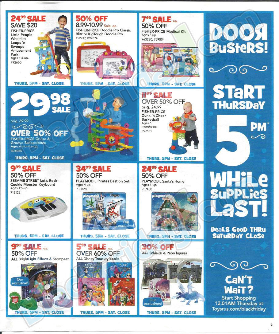 Black Friday 2013: Toys R Us Ad Scans - BuyVia