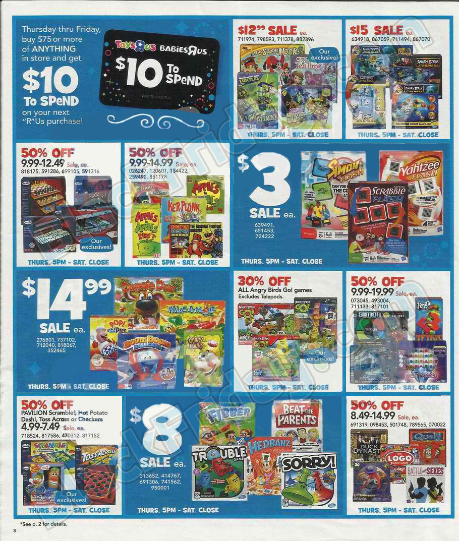 black friday 2013 toys r us ad scans   buyvia