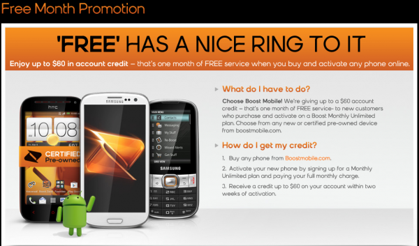 Boost Mobile Black Friday 2013: Deals - BuyVia