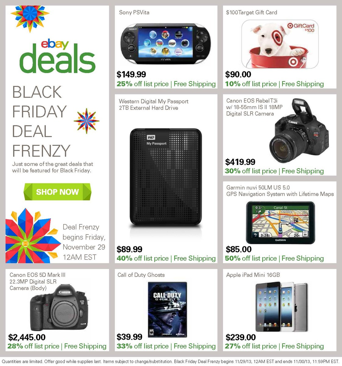 Black Friday 2013: eBay Deals Still In Stock – Beats, iTun