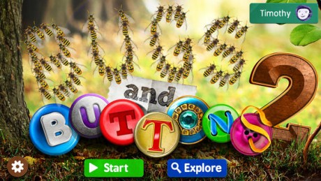 picture of Free Bugs and Buttons 2 iOS App