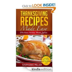picture of Free Thanksgiving Recipe eBook