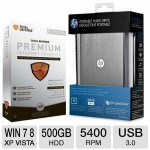 Total Defense Premium, HP 500GB HD