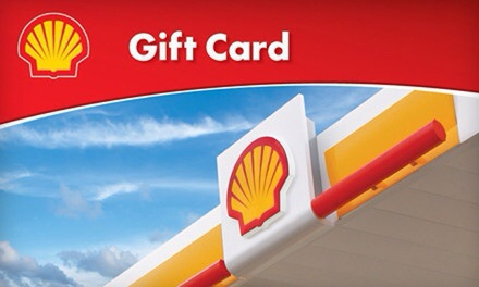 $6 for $10 Shell Gift Card