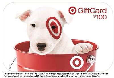 picture of Target $100 Giftcard for $95
