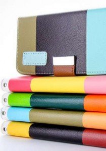 picture of Living Social Colorblock Smartphone Wallet Case 84% Off