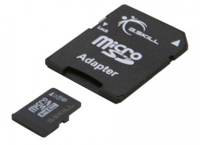 picture of G.Skil 32GB microSDHC Memory Card Sale