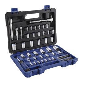 picture of Lowe's Kobalt 46-Piece Standard/Metric Mechanic's Tool Set Sale