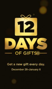 picture of 12 Days of iTunes Gifts