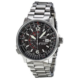 picture of Citizen Nighthawk Eco-Drive Pilot Mens Watch 41% Off