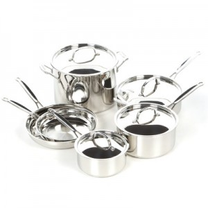 picture of Cuisinart 10-Piece Chef's Classic Cookware Set Sale