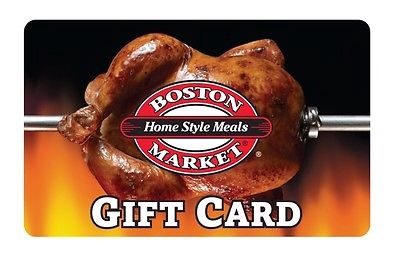 picture of $50 Boston Market Gift Card for only $42.50 by Mail