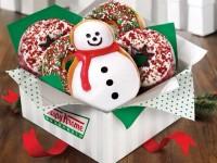 Free Krispy Kreme Holiday Donut