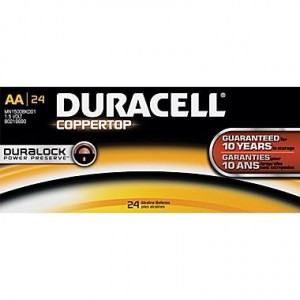 picture of 24 Pack Duracell Coppertop AA Battery Sale