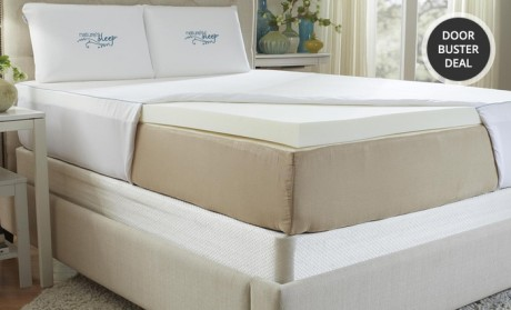 picture of Nature's Sleep Memory-Foam Mattress Topper 67% Off