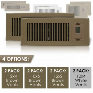 picture of 2-pk Energy Saving Vent Sale