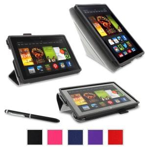 RooCASE Kindle Fire HDX 7″ Tablet Cases Sale $7 99