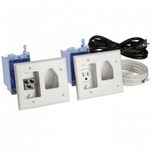 picture of Flat Panel TV Cable Power Organizer/Power Kit Sale