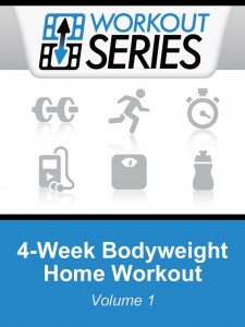 picture of Free Kindle eBook: 4-Week Bodyweight Home Workout (Workout Series)