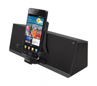 picture of  iLuv IMM377 MobiAir Smartphone Speaker Dock Sale
